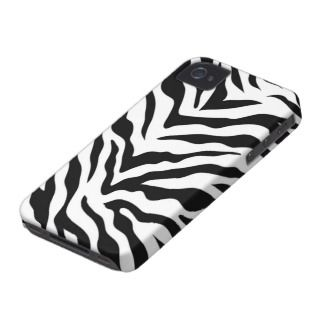Zebra Print iPhone 4/4S Case Mate Case iPhone 4 Case Mate Case