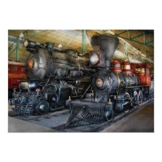 Train   Steam Locomotives Poster