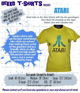 ATARI 2600 RETRO T SHIRT GAMING CULT 70S 80S ARCADE