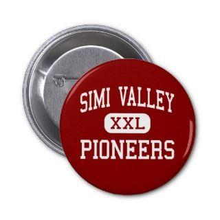Simi Valley   Pioneers   High   Simi Valley Pins