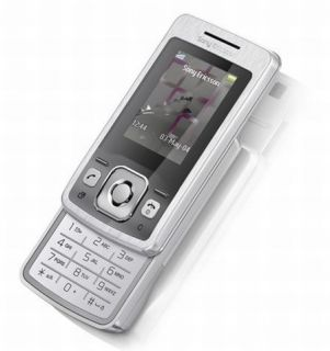 SONY ERICSSON T303 OVP OHNE BRANDING SILVER SILBER