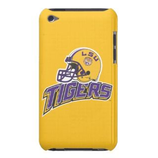 LSU Helmet Left Side  Tigers iPod Touch Covers
