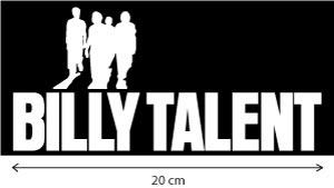Billy Talent Rock Band Auto AUFKLEBER Car Sticker