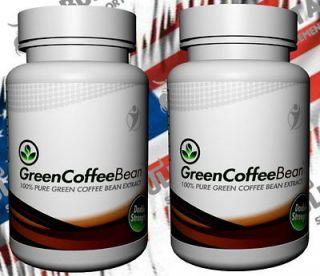 2x Green Coffee Bean Extract   Grüner Kaffee  180 Kapseln aus dem TV