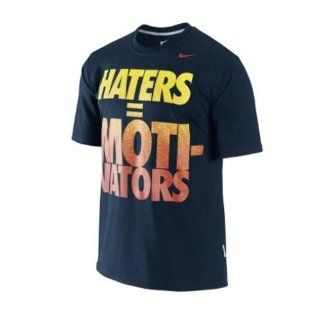 NIKE HATERS  MOTIVATORS GRAPHIC T SHIRT 395519 475 NEU, L