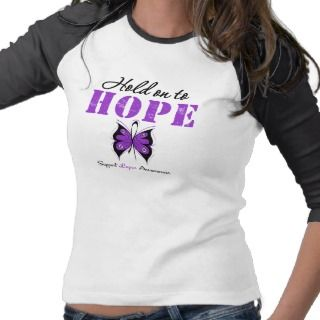 Lupus Hold On To Hope Tee Shirt