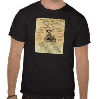Erwin Rommel Top Secret Tee Shirt