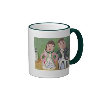 Vintage Egg cups Coffee Mug