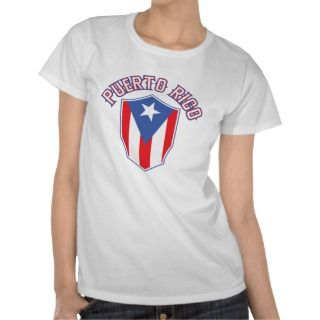 Puerto Rico Big and Bold T Shirts