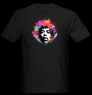 Jimi Hendrix Retro T Shirt Men Black S M L XL 2XL 3XL