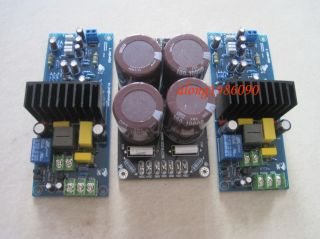 Assembled LJM  L15D Pro Stero Power amplifier board (2 channel) + PSU