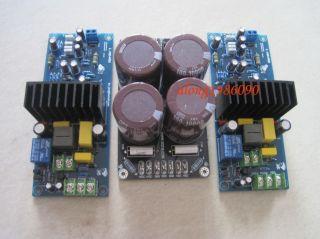 Assembled LJM  L15D Pro Stero Power amplifier board (2 channel) + PSU