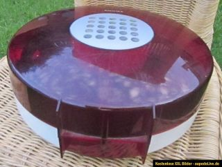 Philips 303 UFO space age portable record player, by Patrice Dupont