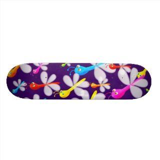 Flying Bug Wallpaper Skate Board Decks