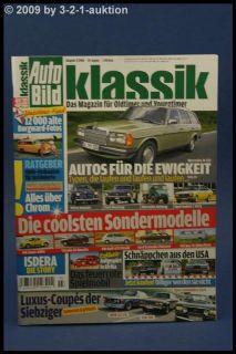 Auto Bild Klassik 3/08 Isdera VW Golf GTI BMW 3.0 CSi