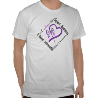 Faith Hope Love Butterfly   Lupus Awareness Tshirt