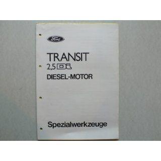 Ford Transit 2, 5 Di Diesel Motor   Original Ford   Spezialwerkzeuge