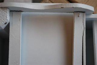 Anrichte Konsole Tisch antik weiß Landhaus *4301 #T10