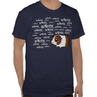 Noisy Guinea Pig (chocolate dutch) Shirts
