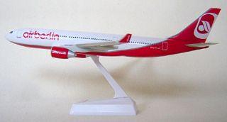 Air Berlin Airbus A330 200 1:200 FlugzeugModell NEU 330