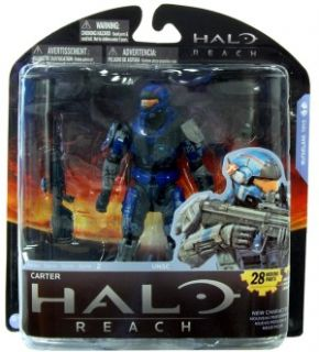 Halo Mcfarlane Reach Series 2 Action Figure Carter *New