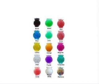 AG336 10 X Crystal Mud Soil Water Beads For Flower Gift