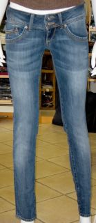 JEANS DONNA TOMMY HILFIGER BLU STRETTO PUSH UP Mod. SONORA W31/L32