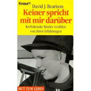 Keiner spricht mit mir darüber David J. Bearison Bücher