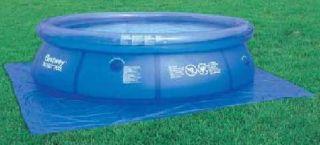 Bodenfolie 335 x 335cm für Quick up Fast Set Frame Pool