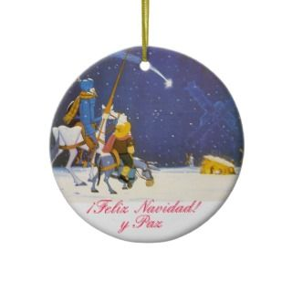 DON QUIXOTE   Adorno de Navidad Christmas Ornaments