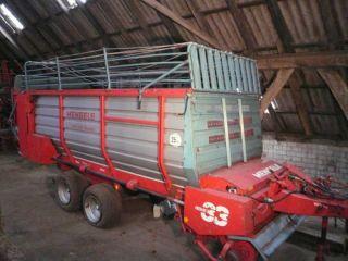Ladewagen Mengele LAW 345 Quadro Transportwagen für Heu Gras Mais