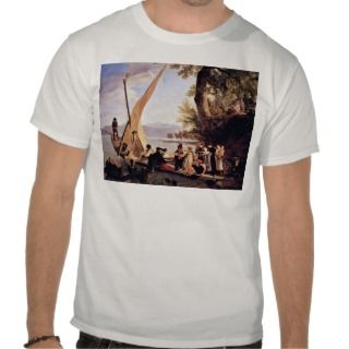 The Departure Of The Wedding Party By Toepffer Tee Shirts
