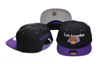 Snapback Lakers Cap Mitchell Ness Big Sean Wiz Khalifa Tyga Lil Wayne