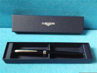 Longines Kugelschreiber + Hülle Black NEU&OVP