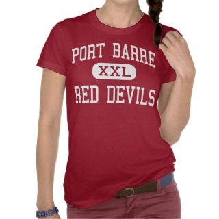 Port Barre   Red Devils   High   Port Barre T Shirt