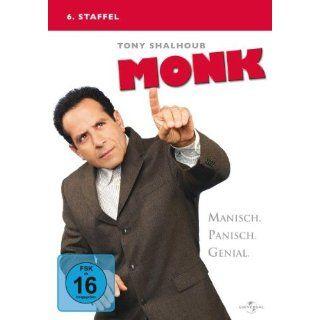 Monk   6. Staffel [4 DVDs] Tony Shalhoub, Ted Levine