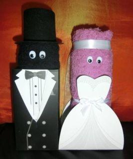 Geldgeschenk Hochzeitsgeschenk Hochzeit Handtuch Set Brautpaar Name