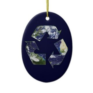Earth   Recycling Christmas Ornaments