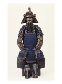 A Suit of Samurai Armour Giclee Print