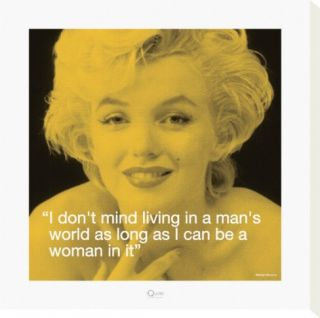 Marilyn Mans World Stretched Canvas Print