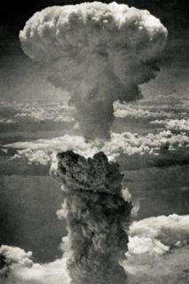 Atomic Bomb Mushroom Cloud Archival Photo Poster Print Masterprint