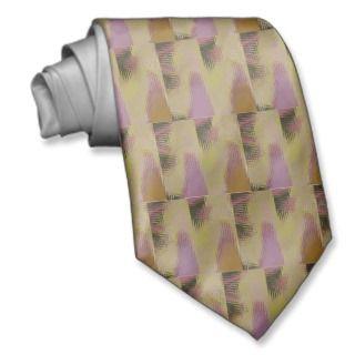 Pattern Pink Brown Fawn Tie
