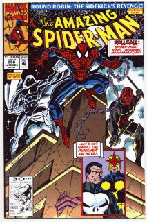 Amazing Spider Man # 356   Dec 1991  MARK BAGLEY art   Marvel  9.4