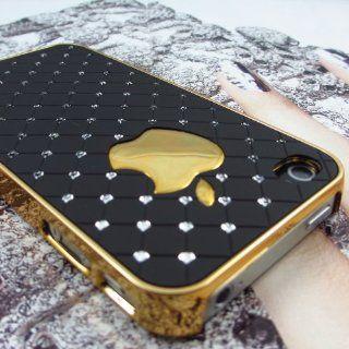 Premium Luxus Strass Bling Kristalle Hard Case Cover Hülle für Apple