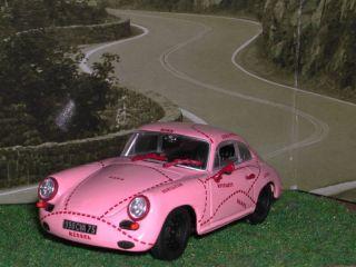 43 Minichamps Porsche 356 C Coupe Pink Pig