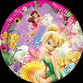 Tinkerbell Fairies Springtime 10 Pappteller Kindergeburtstag