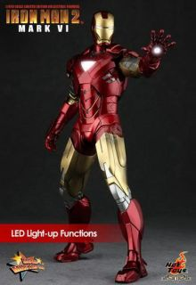 Hot Toys 16 Iron Man Mark VI Mark 6 + Exclusive Arm