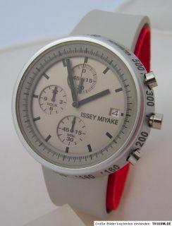 ISSEY MIYAKE SILAT 004 Fukasawa Trapezoid Design Uhr chronograph men