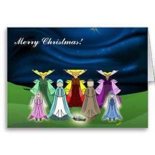Merry Christmas Nativity Card