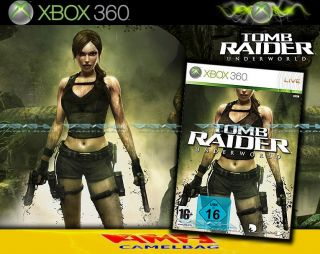 LARA CROFT TOMB RAIDER   UNDERWORLD XBOX 360 NEU/OVP